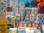 Detergents, Hand Cleaner, Cleaning Products and Equipment