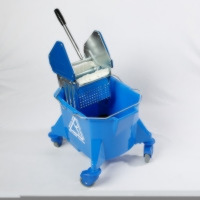 Mop Bucket with Steel Wringer