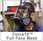 FORCE 10 Full Face Respirator