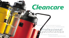 Professional and Industrial Vacuum Cleaner Range