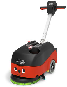HENRY Battery Operated Twintec Scrubber Dryer