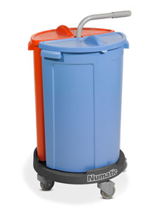 Numatic NCG-2 Carousel Cleaning Trolley