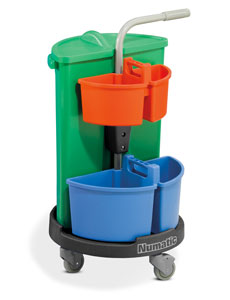 Numatic NCG-3 Carousel Cleaning Trolley
