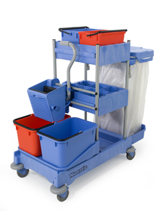 Numatic NPT1605 Cleaning Trolley
