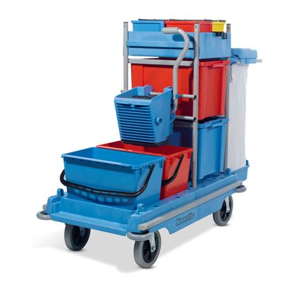 Versaclean VCN1806 Cleaning Trolley with Mopping Kit BK2