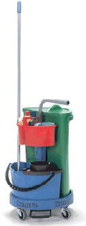 Numatic NC-1 Carousel Cleaning Trolley
