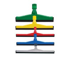 Coloured coded floor squeegees